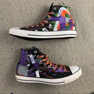 Converse all star Batman joker shoes